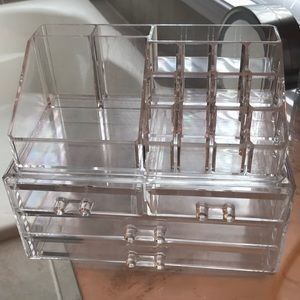 Other - Large Acrylic Makeup Organizer